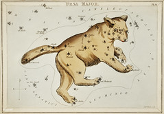 Sidney Hall's (1831) astronomical chart illustration of the Ursa Major. Original from Library of Congress. Digitally enhanced by rawpixel.