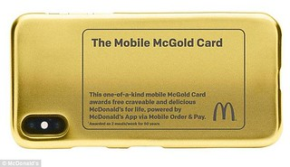 Mobile McGold Card