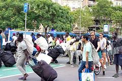 2018_08_12-Despliegue policial en la Barceloneta en contra de la venta ambulante-Manuel Roldán-06