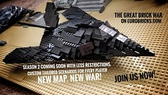 Great Brick War Phase 2 starting soon. Join us on Eurobricks.com