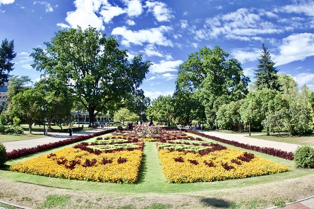 Bastejkalna Park. Latvia.