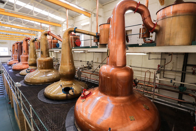 Glen Grant - Whisky stills