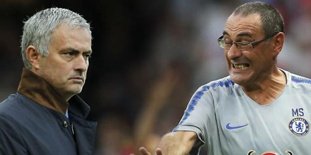 Jose Mourinho Percaya Maurizio Sarri: Premier League Kompetisi Yang Gila