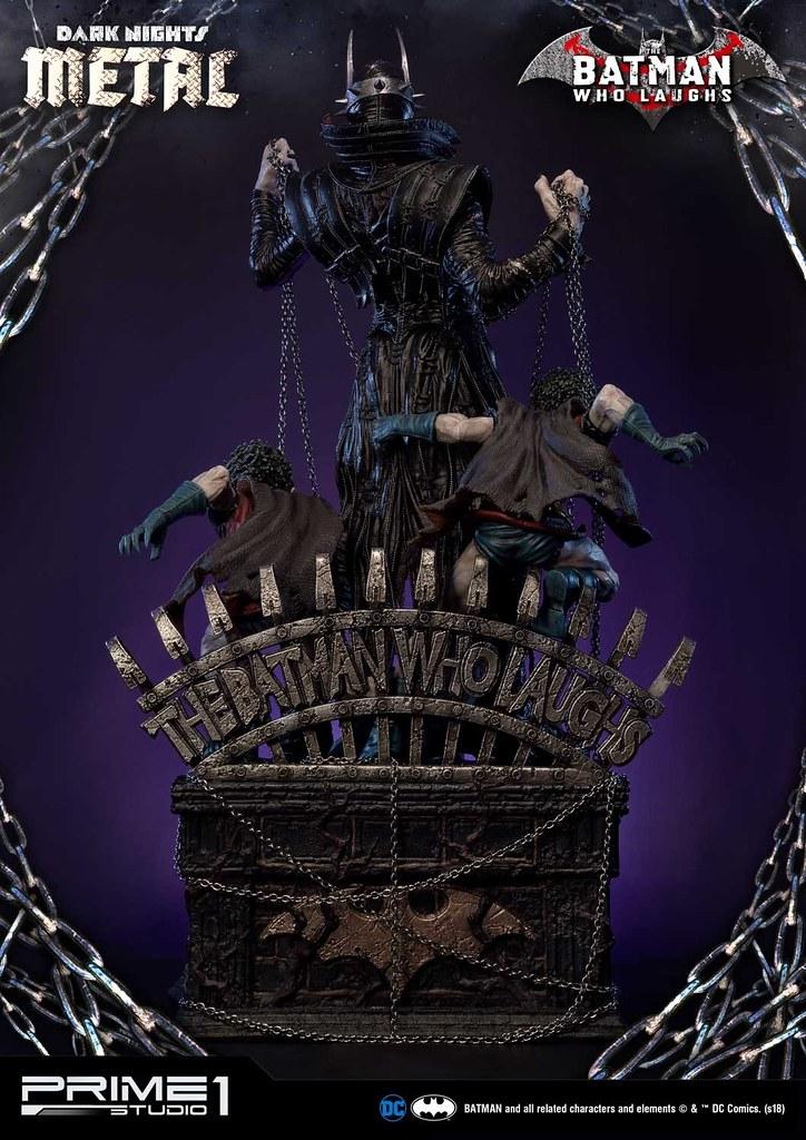 獵奇、恐怖、瘋狂!! Prime 1 Studio《Dark Nights: Metal》大笑蝙蝠俠 バットマン フー・ラフス MMDCMT-01DX 1/3 比例全身雕像作品 普通版/DX版