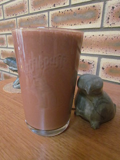 Salted Chocolate Hemp Shake For Two