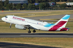 Eurowings Europe Airbus A319-132 OE-LYV BHX 10/08/18