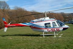 G-BXAY Bell 206B-3 Jet Ranger III [3946] (Viewdart Ltd) Cheltenham Rac