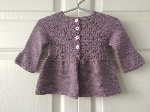 Lise's Alouette by Lisa Chemery knit with Drops Baby Merino