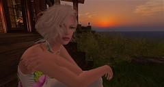 Enjoying a sunset at Calas Galadhon