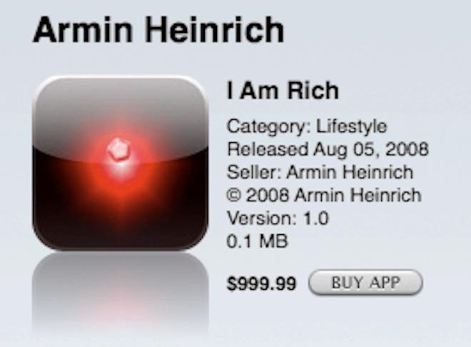 Ứng dụng siêu đắt nhưng vô dụng nhất trên App Store?