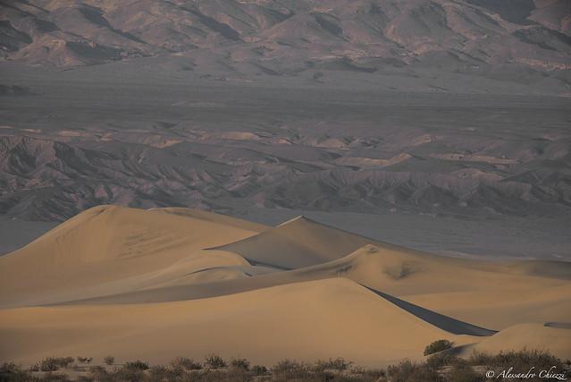 Mosquito dunes, death valley