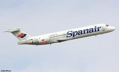 Spanair Boeing 717-2K9 EC-KFR / BCN