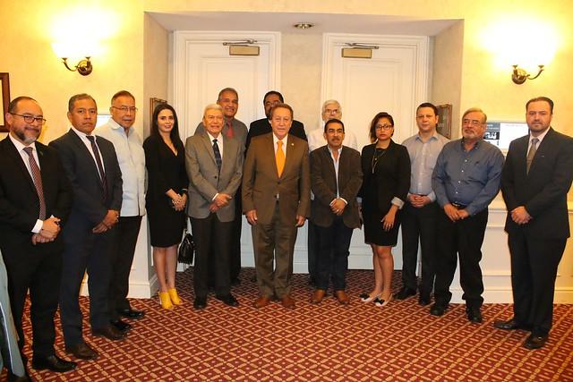 Reunión del Consejo Directivo del COCATRAM