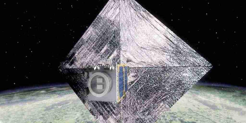 Le premier satellite pour éliminer les débris débute son premier vol d'essai