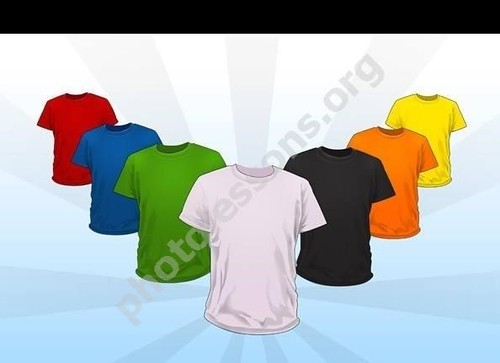 T-Shirt PSD for Photoshop – a great design for website