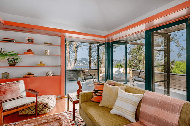 Harwell Hamilton Harris' Hawk House hits the market in Silver Lake asking $1.3M