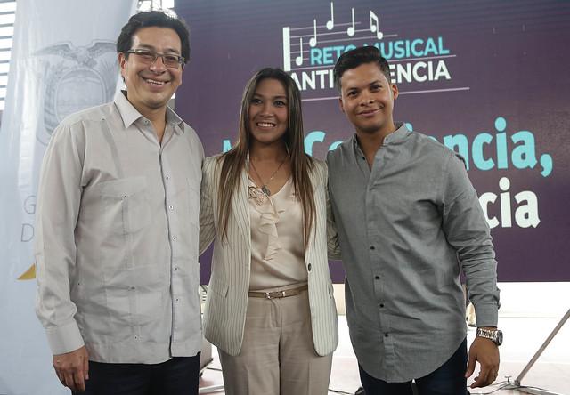 Lanzamiento del Reto Musical Intercolegial - Guayaquil