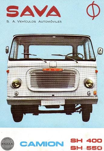 portada catàleg camió Sava SH