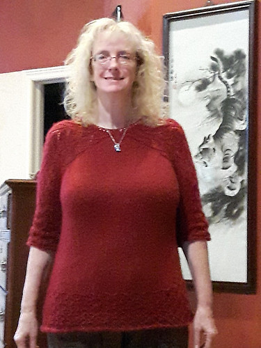 Linda (lmcnorton)'s Rosina Sweater by FadenStille