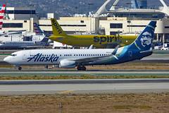 N552AS Boeing 737-890/W ASA LAX
