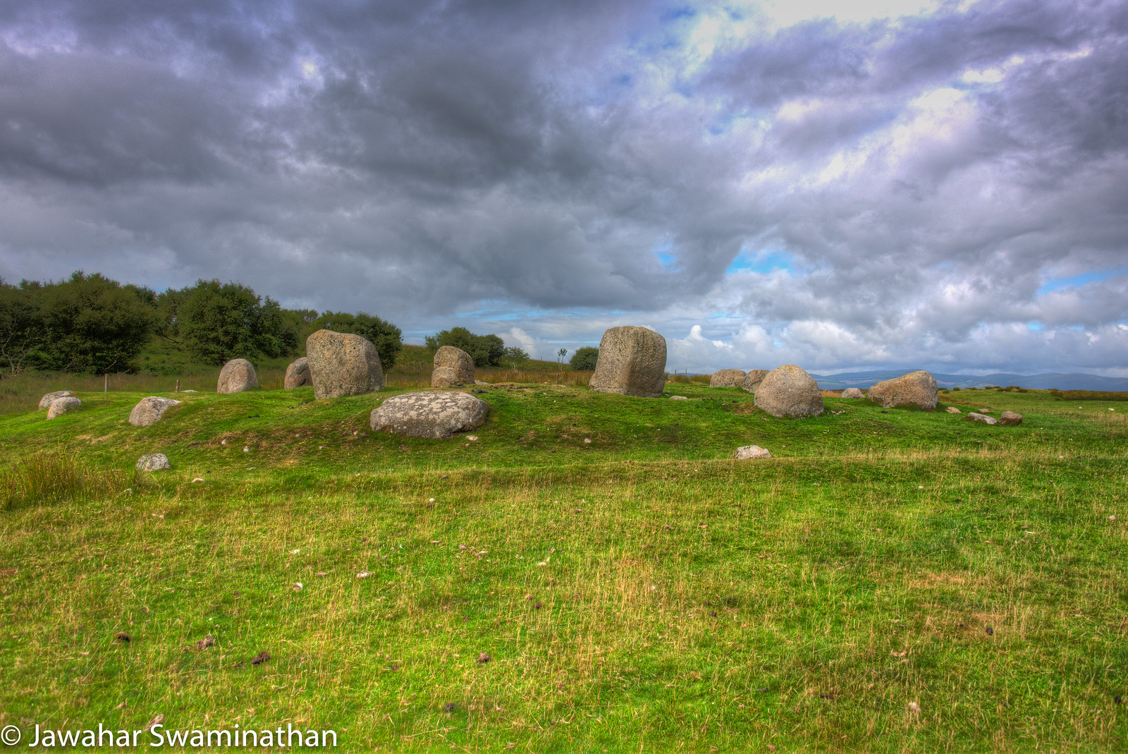 Machrie Moor Stone Circle 4