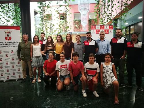 Presentación del equipo senior femenino del Club Baloncesto Ciudad de Dos Hermanas