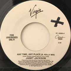 JANET JACKSON:ANY TIME, ANY PLACE(LABEL SIDE-A)