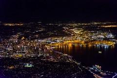 20180612 100 UA 733 SFO to SEA night Seattle