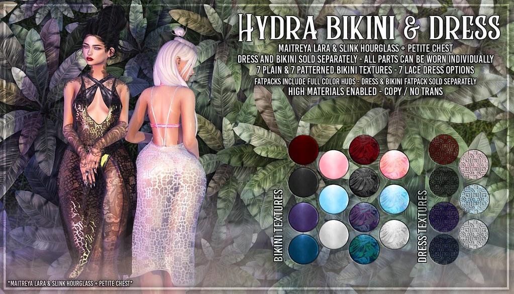 AsteroidBox. Hydra Bikini & Dress - SOON @ C88 - TeleportHub.com Live!