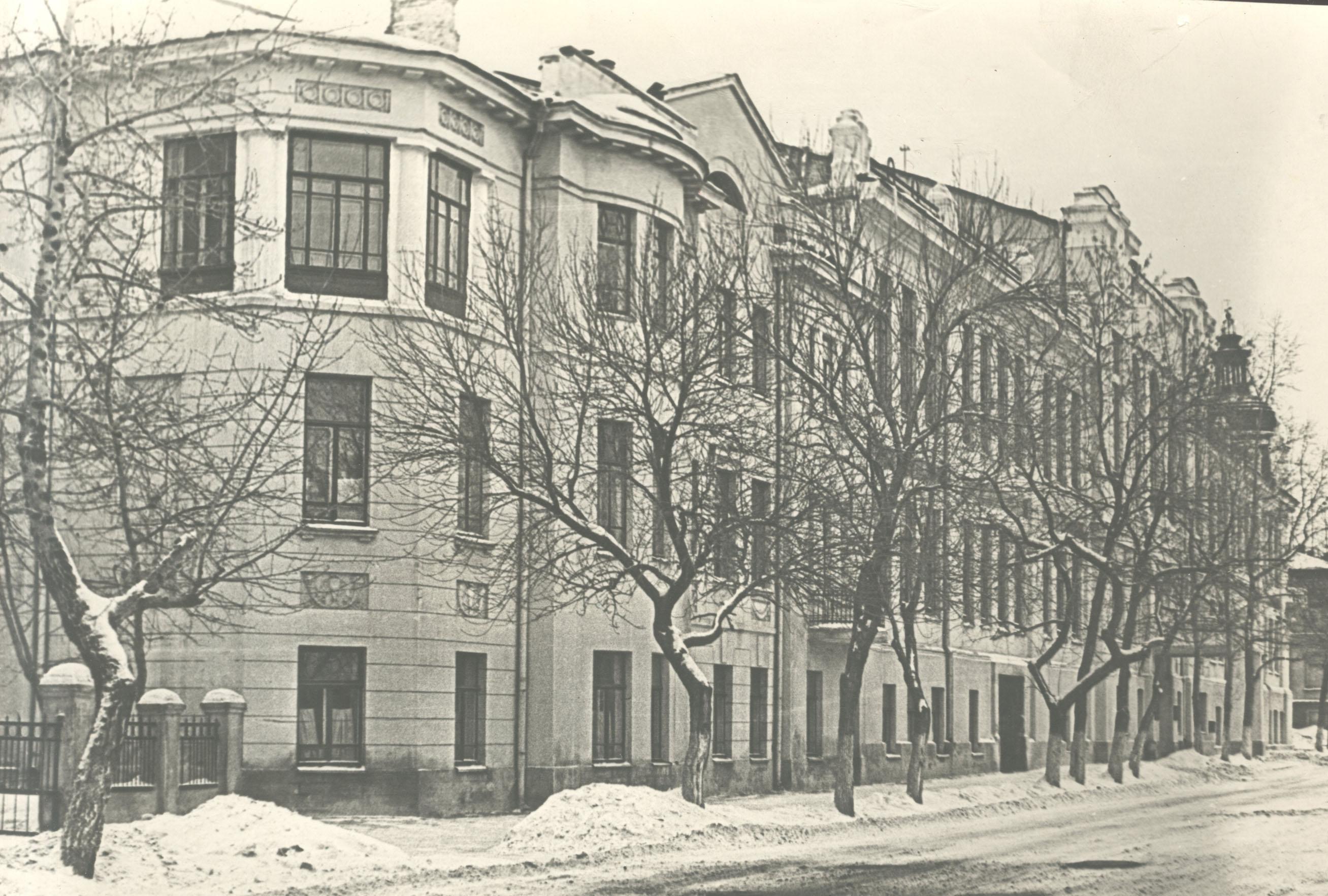 Здание Самарского реального училища