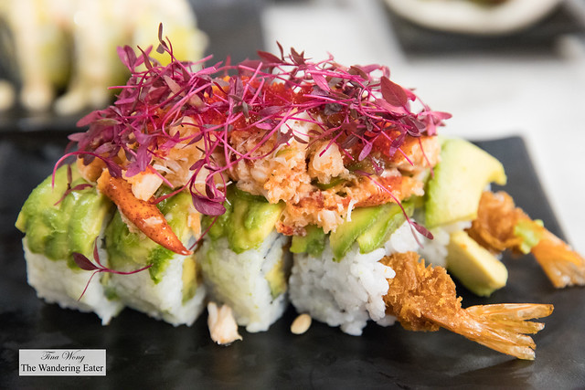 Lobster ceviche roll