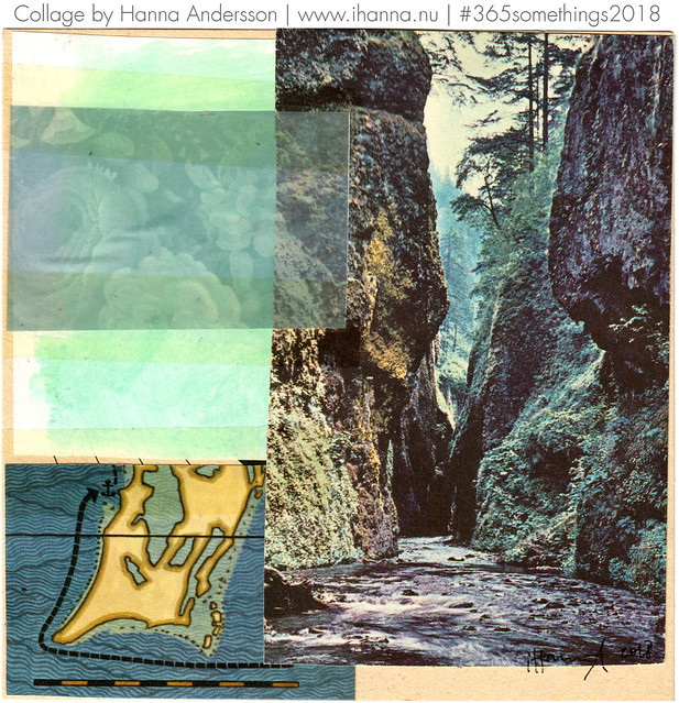 Passing the ravine - Collage no 205 by iHanna