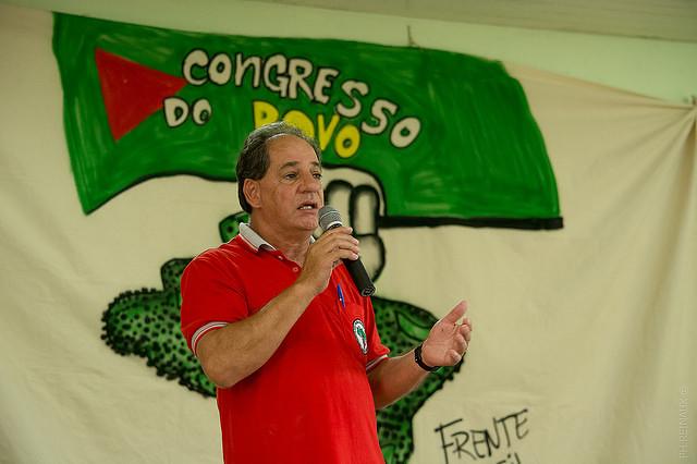 Jaime Amorim, dirigente do MST, fala sobre Greve de Fome, que já dura 18 dias