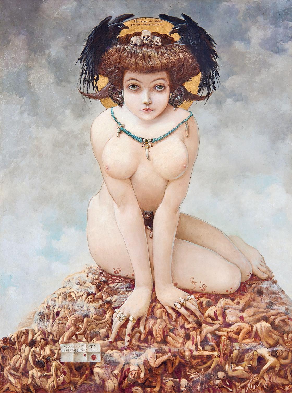 Gustave Adolf Mossa - Elle, 1906