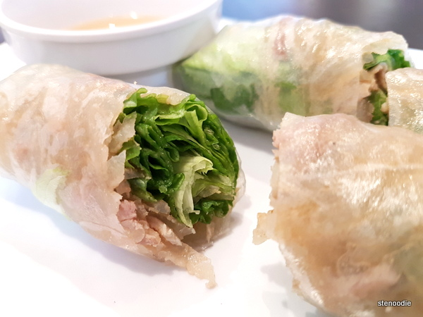 Fresh Rolls - Shredded Pork & Pork Skin