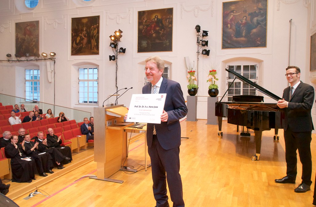 Verleihung des Theologischen Preises an Prof. Dr. Hans Joas