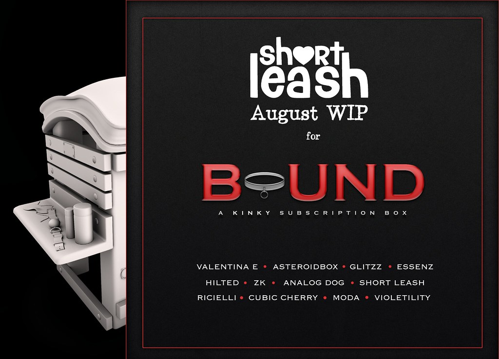 .:Short Leash:. WIP Teaser for Bound Box August