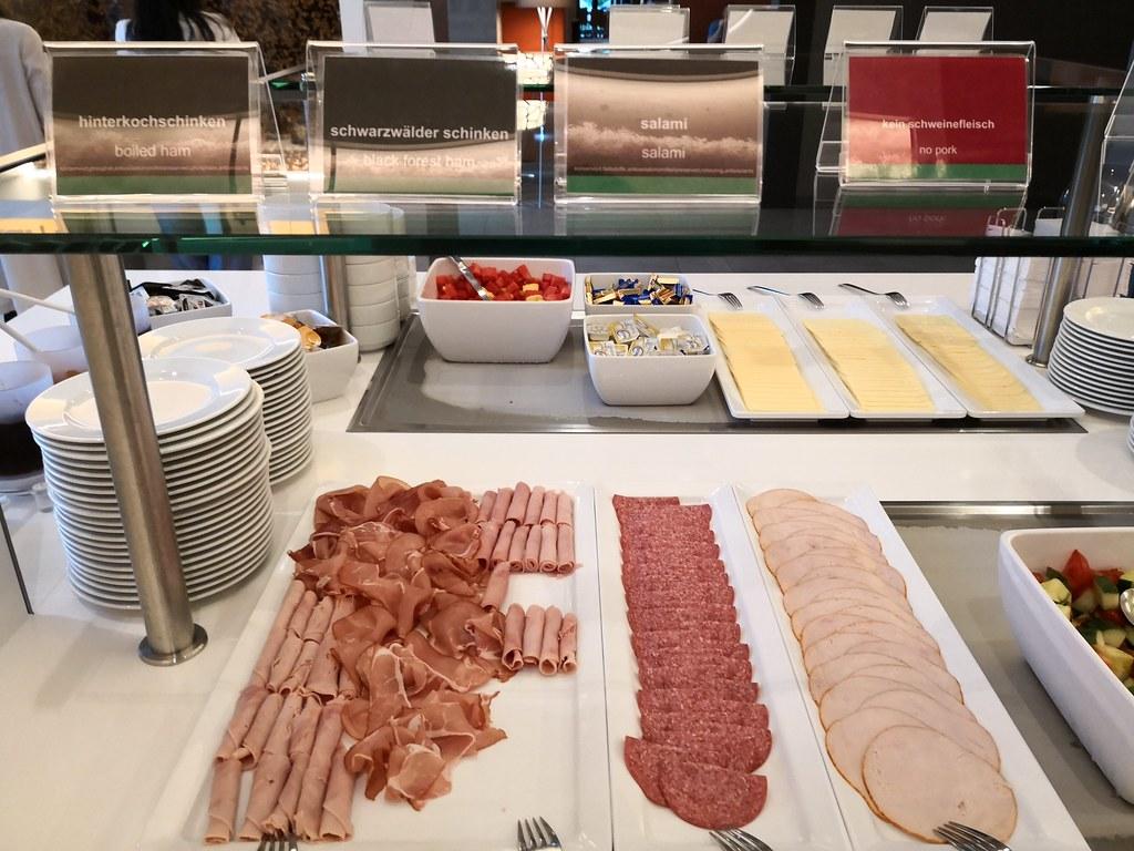 Ham and salami