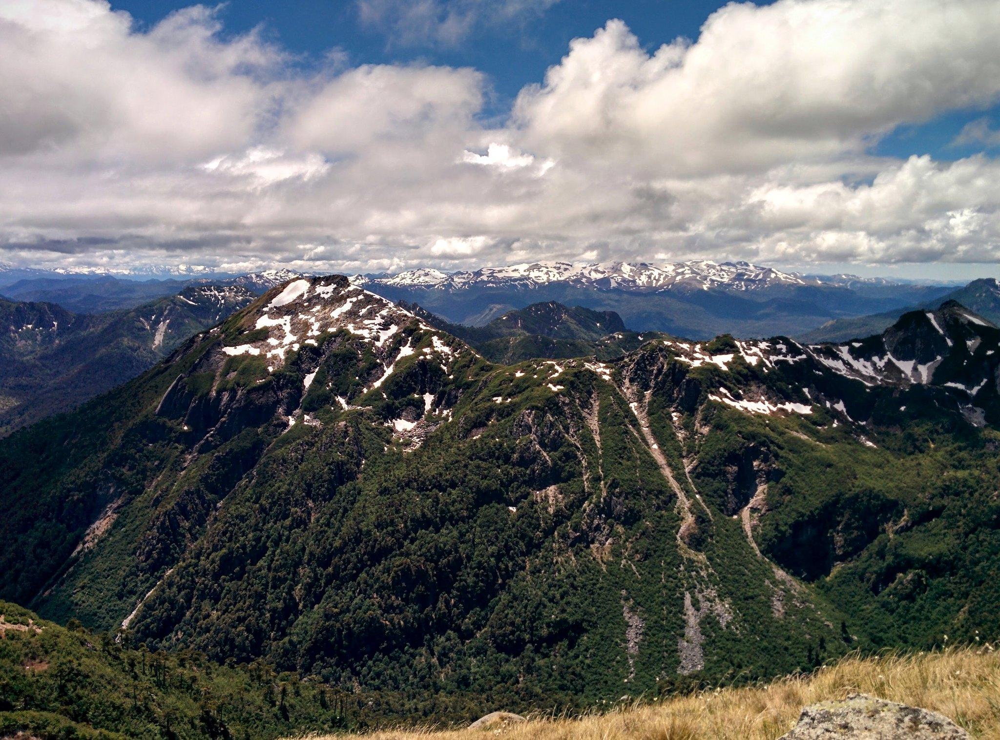 The view east from Cerro San Sebastián