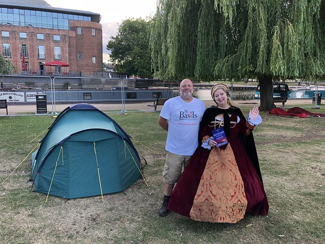 St Basils Shakespeare SleepOut 2018