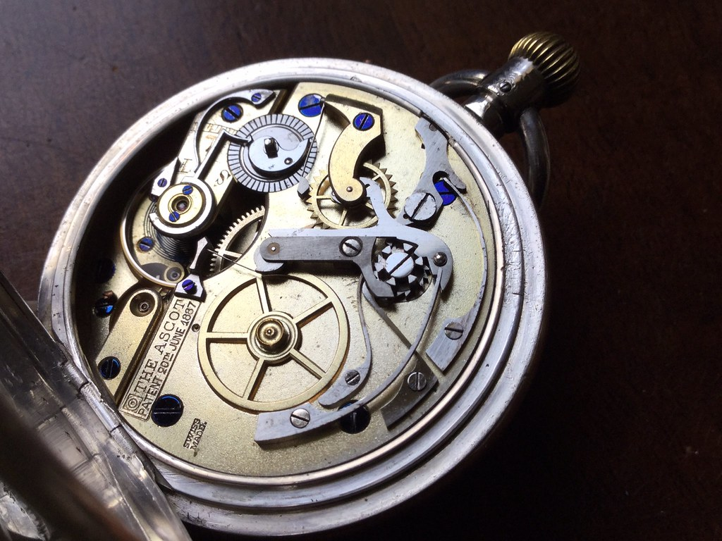 The Ascot pocket watch chronograph