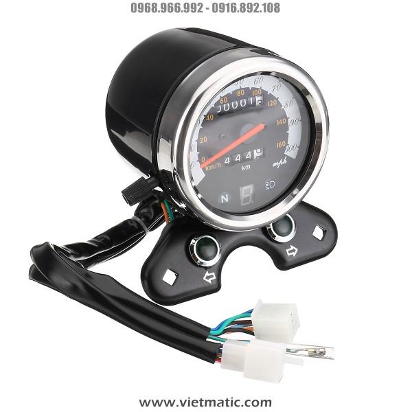 Đồng hồ xe Cafe Racer