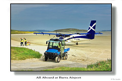 All aboard at Barra Airport
