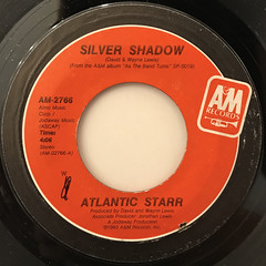 ATLANTIC STARR:SILVER SHADOW(LABEL SIDE-A)