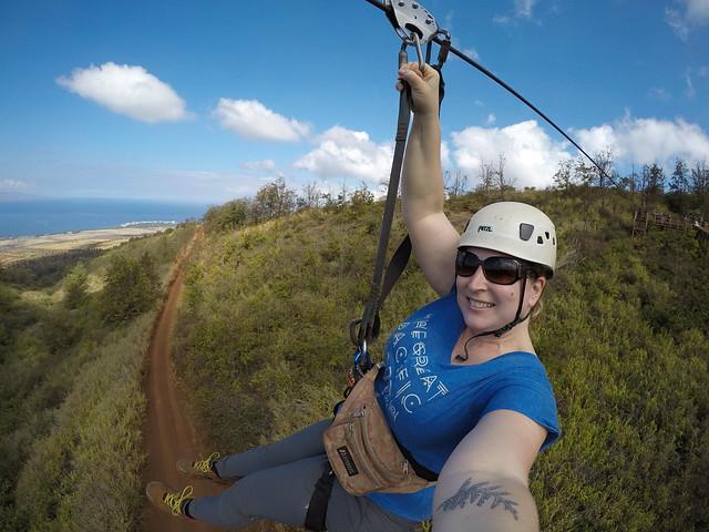 Zipline on Maui