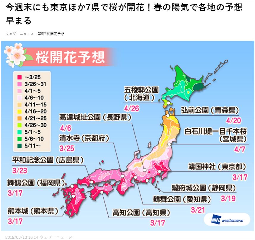 櫻花預報2