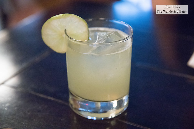 Karate Kid - Spring 44 Gin, yuzu, kaffir lime leaf, lime juice