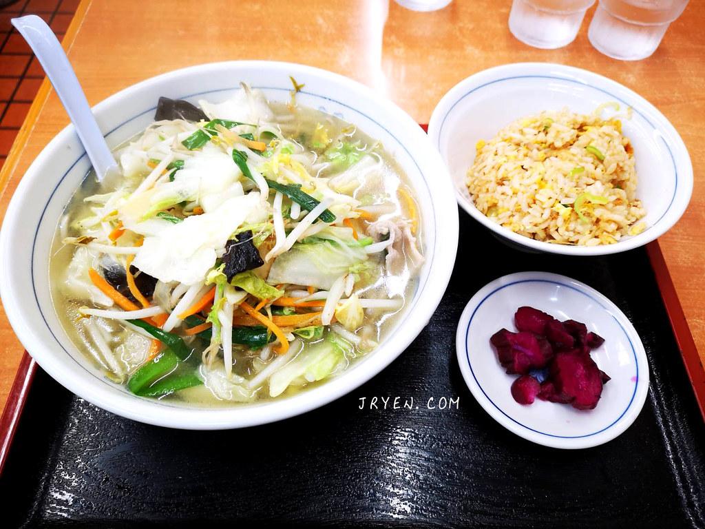 日本東京-福しん平價定食