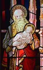 Simeon and the infant Christ (1870s)