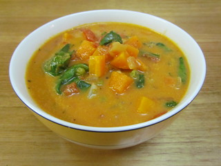 10-Spice Vegetable Soup with Cashew Cream